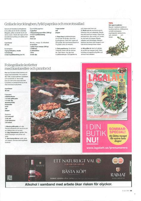 Dagens Nyheter sidan 25